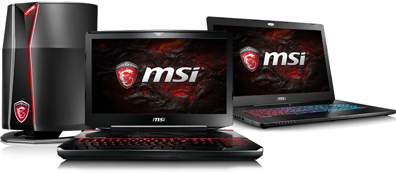 MSI Laptops in stock!